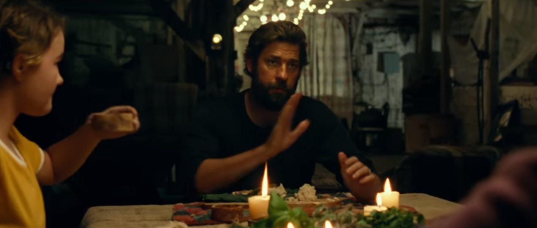 "New Paltz New York >> Trailer for John Krasinski's New Film ""A Quiet Place"