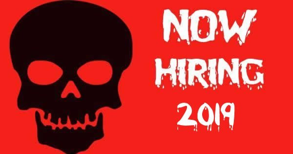 Halloween New York 2019.Haunted Attractions Throughout New York Hiring For The 2019