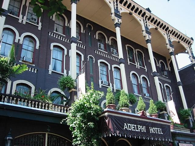 Adelphi hotel saratoga springs new york real haunted place for Hotels saratoga springs new york